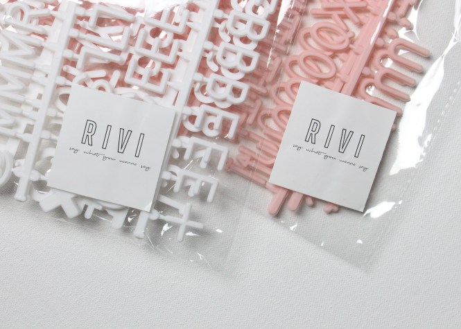 Shop with Kendallyn, RIVI co. Letter Board Blog Post Product Review