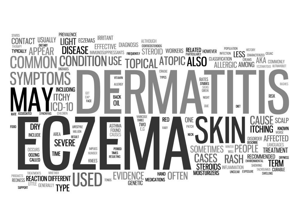 Eczema sign and symptoms of eczema