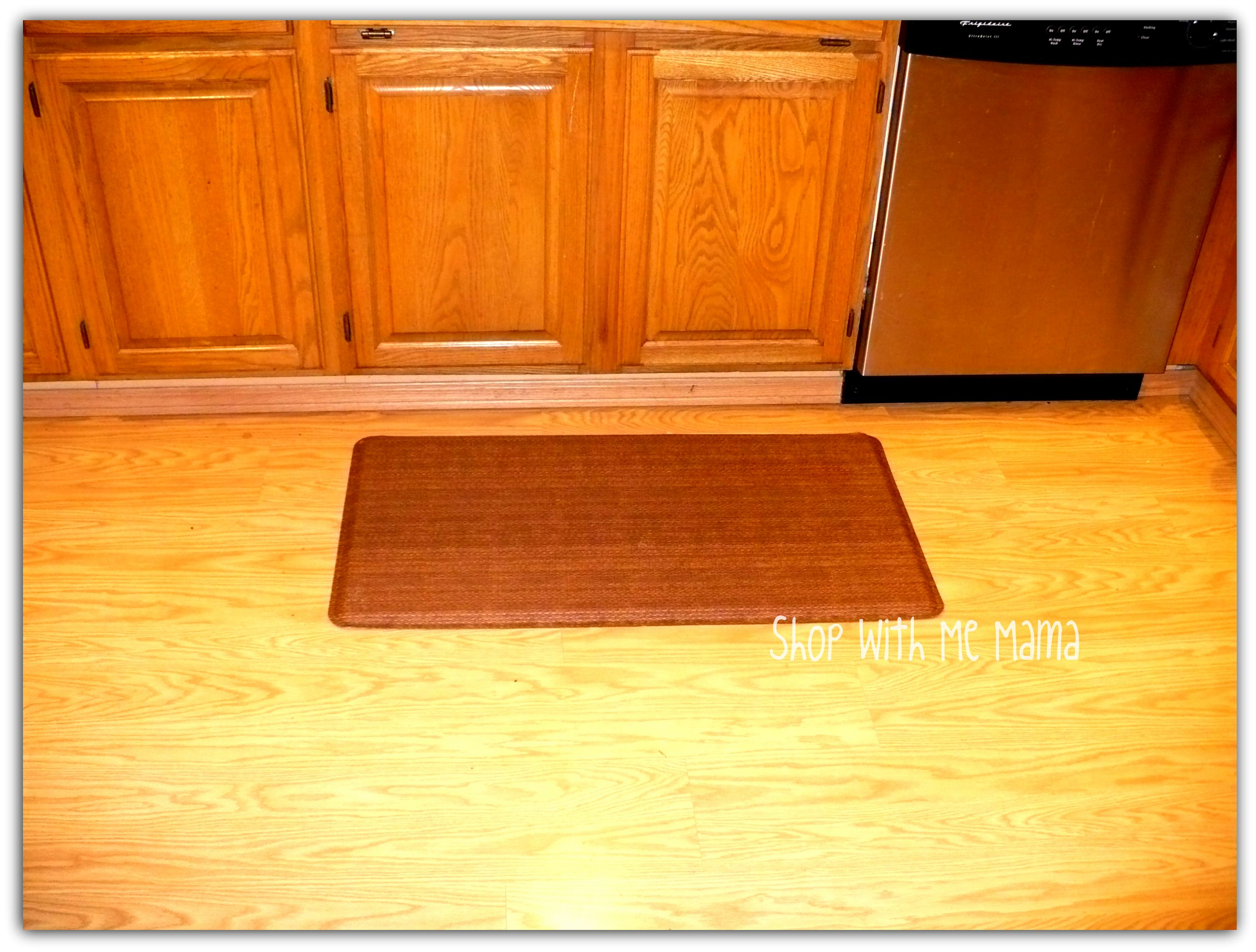 Kitchen Gel Floor Mats Gelpro Mat Review Shop With Me Mama
