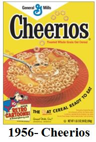 Retro Cereal From General Mills