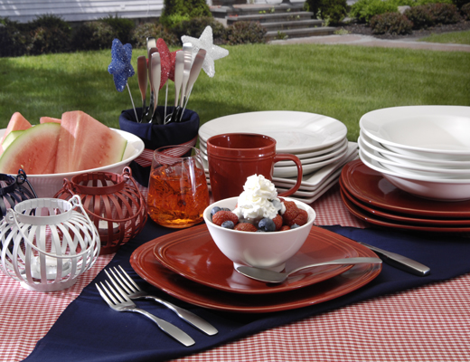 Oneida Entertaining Tips For The Fourth Of July