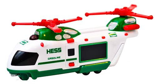 2011 Hess Miniature Helicopter Transport Review