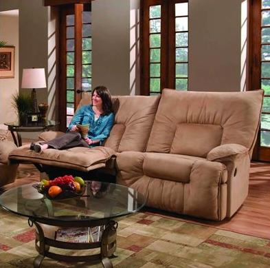 Brown Sofa Chairs in Living Room