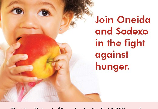 Fan Oneida On Facebook To Fight Childhood Hunger