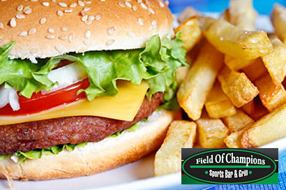 $15 For $30 At Field of Champions Sports Bar & Grill Deal At Juice In The City!