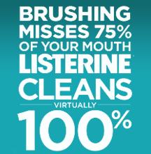LISTERINE and REACH Healthy Habits for a Lifetime Oral Care Challenge