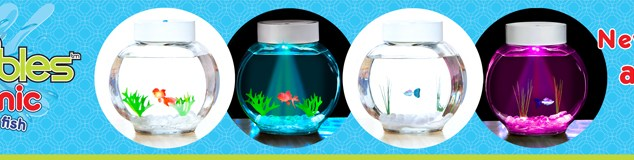 Gemmy Fincredibles Electronic Pet Fish