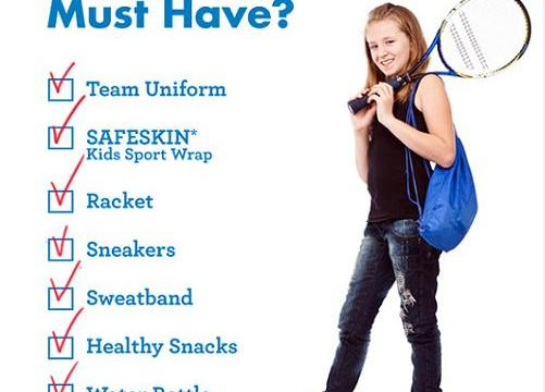 SAFESKIN® Kids Sport Wrap