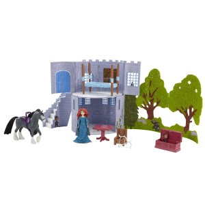 Brave Gem Styling Merida Doll & Brave Castle & Forest Playset