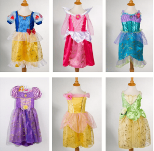 New Fall 2012 Disney Princess Sparkle Dresses – Wal-Mart Roll Back for a limited time– $16.88!