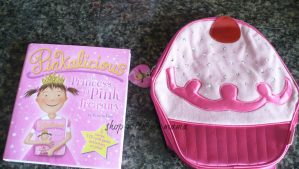 Pinkalicious Cupcake Back Pack And Book Review
