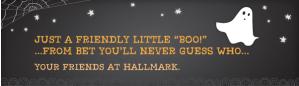 Boo! From Hallmark