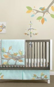 Migi Little Tree 3 Piece Crib Bedding Set Giveaway!!