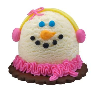 Baskin-Robbins Mini Snow Woman