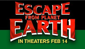 Escape From Planet Earth In Theaters February 14th!