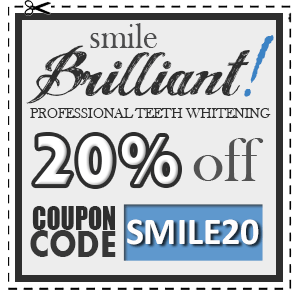 Smile Brilliant LED Teeth Whitening System Review & Giveaway!