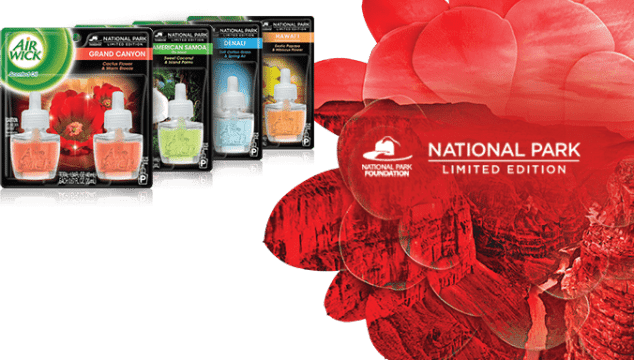 Air Wick New Limited Edition National Park Collection (Sweepstakes!)