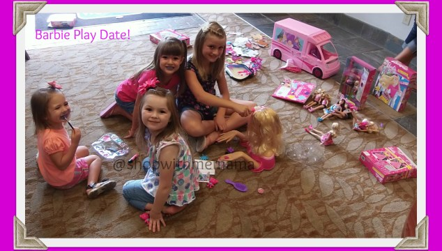 Our Barbie Play Date!