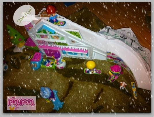 pinypon ski lodge playset