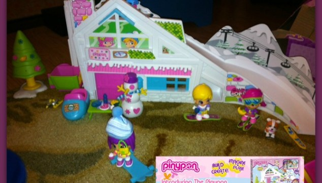 Introducing The Pinypon Ski Lodge And Snow Car And Tow