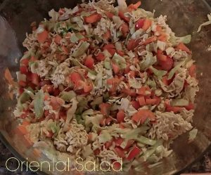 How To Make Oriental Salad With Ramen Noodles #Recipe