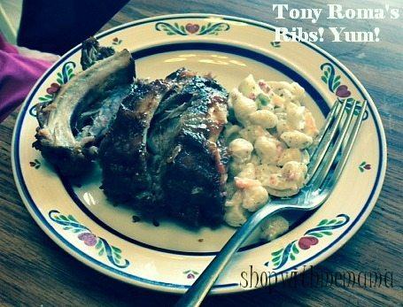 Our 4th of July Celebration with Tony Roma's Ribs!! #Riberty