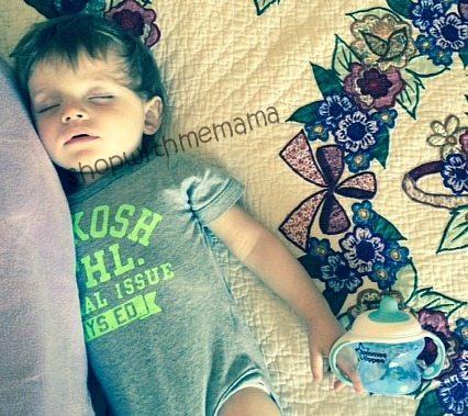 baby sleeping shopwithmemama summertime fun