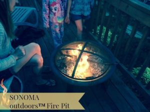 Outdoor Entertaining With The SONOMA outdoors™ Fire Pit Sold At Kohl's