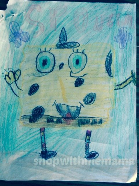 spongebob drawing