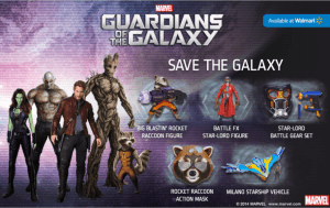 Guardians of The Galaxy Toys At Walmart!