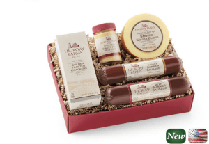 Hickory Farms Beef And Turkey Hickory Sampler (Giveaway) #giftguide