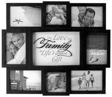 Family Collage Wall Decor Giveaway #giftguide