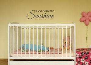 You Are My Sunshine Vinyl Wall Decal  #giftguide