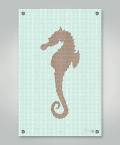 Treasure Cove Seahorse Home Decor #giftguide