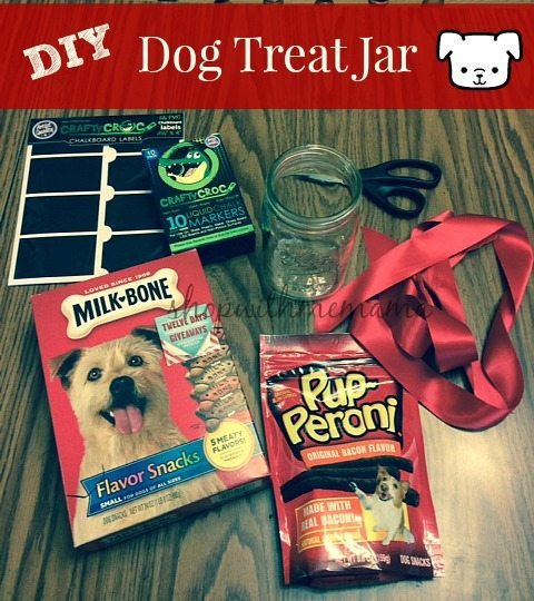 DIY Dog Treat Jar