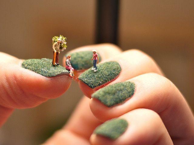fingernail lawns tiny worlds