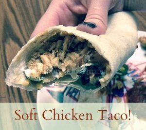 Soft Chicken Tacos #Recipe