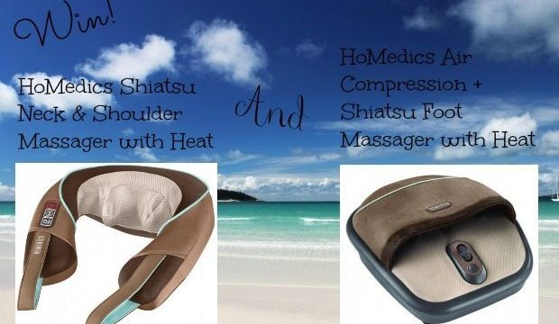 HoMedics Back Massager Helps This Blogger So Much!