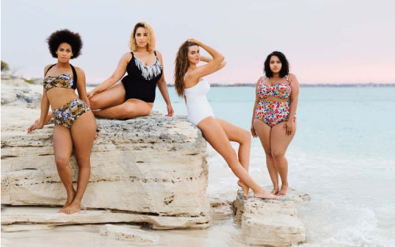 The Best Plus-Sized Bathing Suits are Online