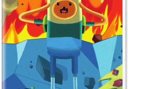 ADVENTURE TIME: FROST AND FIRE Now On DVD!