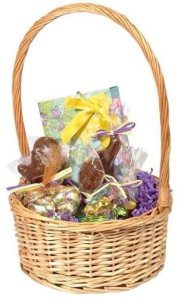 Vermont Nut Free Chocolates Easter Basket