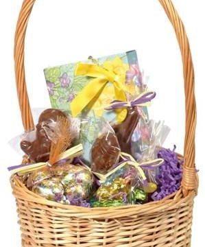 Vermont Nut Free Chocolates Easter Basket