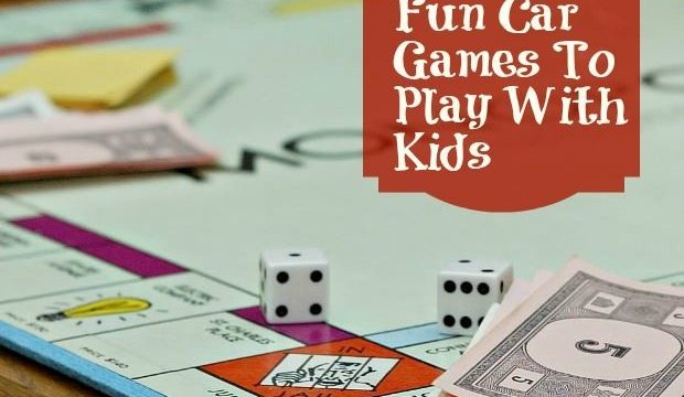 Fun Car Games To Play With Kids!