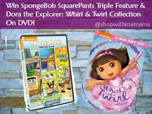SpongeBob SquarPants Triple Feature & Dora The Explorer Whirl & Twirl Collection