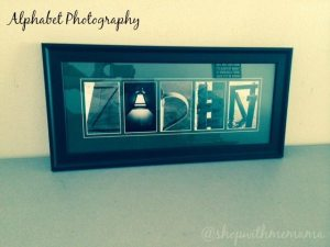 Alphabet® Photography Inc Creates Personalized Alphabet Letter Art
