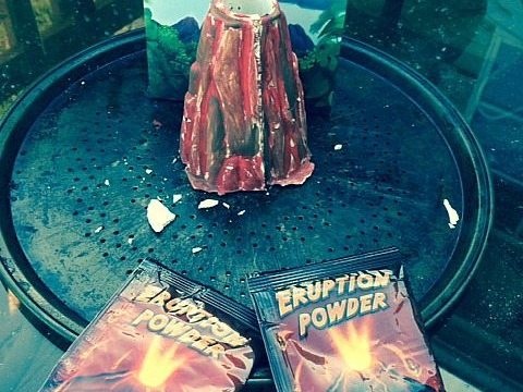 The Ultimate Volcano Science Kit Review #discoverwithdrcool