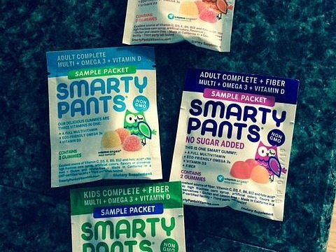 SmartyPants All-in-One Vitamins For Adults And Kids #BornSmarty