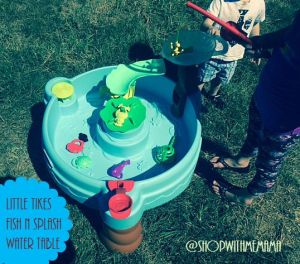 Little Tikes Fish N Splash Water Table #Littletikes #WaterTable