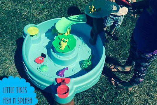 Little Tikes Fish N Splash Water Table #Littletikes #WaterTable