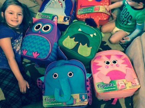 Go Back To School With Flipeez Backpacks!